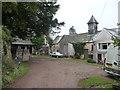 SO3914 : Part of Court Farm, Llantilio Crossenny by Jeremy Bolwell