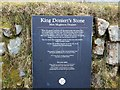 SX2368 : Information plaque at King Doniert's Stone by David Smith