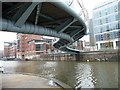 ST5972 : Floating Harbour at Temple Bridge by Christine Johnstone