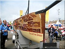 SY6778 : Collective Spirit - Weymouth Sailing Olympics by Sarah Smith