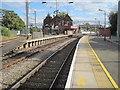 SJ8934 : Stone railway station by Nigel Thompson