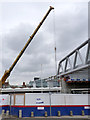SK5739 : More progress on the bridge, March 2013 - 3 by Alan Murray-Rust