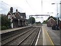 SJ8055 : Alsager railway station by Nigel Thompson
