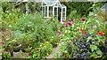 SW3824 : An artist's garden, 2 by Jonathan Billinger