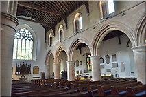 TQ9220 : Interior, St Mary's church, Rye by Julian P Guffogg