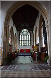 TQ9220 : Chancel, St Mary's church, Rye by Julian P Guffogg
