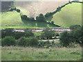 SX9273 : Muddy tracks, Broadmeadow, seen from Mill Lane by Robin Stott