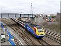 SK5538 : Under the bridge by Alan Murray-Rust