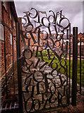 SO8554 : Sidbury Lock No 3 Worcester by Gillie Rhodes