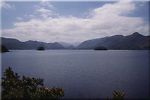 NY2622 : Derwent Water from Friars Crag by Christopher Hilton