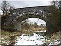 NS4354 : Northern East Ayrshire : Pollick Farm Bridge (looking NE) by Richard West
