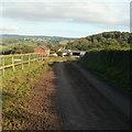 ST3394 : Access lane to Penywain Farm by Jaggery