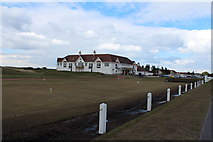 NS2005 : Putting Green at Turnberry Club House by Billy McCrorie