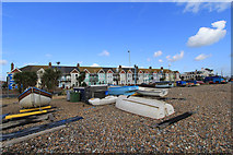 TQ1602 : Guest Houses from East Worthing beach by David Boness