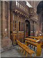 SJ8398 : Pulpitum (Screen), Manchester Cathedral by David Dixon