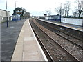 SK0933 : Uttoxeter railway station by Nigel Thompson