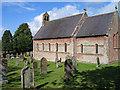 NY5943 : All Saints Church, Renwick by Trevor Littlewood