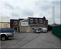 SS8983 : Tondu RFC premises, Aberkenfig by Jaggery