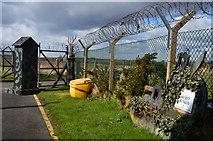 NO5608 : Secret Bunker entrance gate by Jim Barton