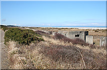 NJ3166 : Pillbox and Tank Traps by Anne Burgess