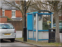 SU3521 : Car Park Pay Station - Romsey by Colin Babb