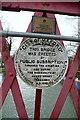 SP4907 : Plaques on Rainbow Bridge by Graham Horn