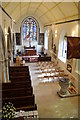 TQ8209 : South aisle and chapel, St Clement's church, Hastings by Julian P Guffogg