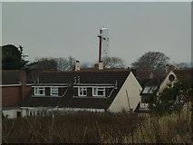 ST3050 : Former lighthouse - Burnham on Sea by Chris Allen