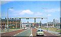 SJ8497 : Entering Manchester on Upper Brook Street, 1966 by Ben Brooksbank