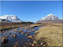 NN2655 : River Etive Glencoe by John Ferguson