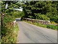 SO1021 : Bridge across Clydach, Aber Village by Jaggery