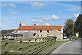 SE8485 : Pexton Moor Farm by Pauline E