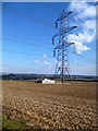 SU5884 : Big Pylon by Des Blenkinsopp