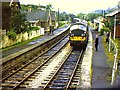SS9307 : Cadeleigh station on the last day for passengers by Richard Green