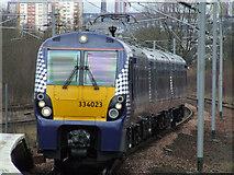 NS6162 : Rutherglen railway station by Thomas Nugent