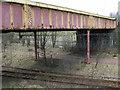 NS6161 : Queen Street railway bridge by Thomas Nugent