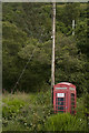NN0758 : Telephone box, Ballachulish by JEZ NORGAN