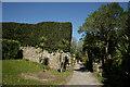 SV8914 : Gateway Near Tresco Abbey Gardens by Peter Trimming