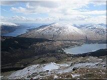NN2904 : A view of Arrochar by Richard Webb