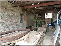 ST5071 : Tyntesfield sawmill by Chris Allen