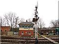 TQ3729 : Horsted Keynes signal box by Stephen Craven