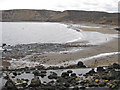 NZ8116 : Cold, Easter Tuesday at Runswick Bay by Pauline E