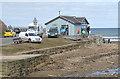 NZ8612 : Tides cafe by Pauline E