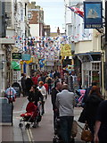 SY6878 : Weymouth: St. Alban Street by Chris Downer