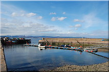 NH7867 : Cromarty Harbour by Bill Harrison