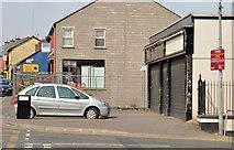J4569 : Vacant shops, Comber by Albert Bridge