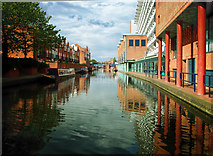SP0586 : View from Sheepcote Street bridge.  Birmingham City centre by Gillie Rhodes