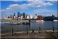 TQ3780 : Canary Wharf by Jim Osley