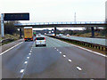 SJ7758 : Southbound M6, Betchton Road Bridge by David Dixon