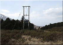 J3630 : Powerlines serving the Drinnahilly Transmitter by Eric Jones
